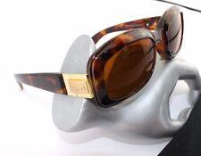 "Vintage "" ESCADA "" Design Sonnenbrille Neuwertig 70/80er sunglasses Braun Gold"