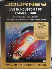 Journey Live in Houston 1981 Escape Tour dvd special collectors edition