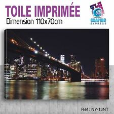 110x70cm TOILE IMPRIMÉE TABLEAU MODERNE DECORATION MURALE - NEW YORK - NY-13T