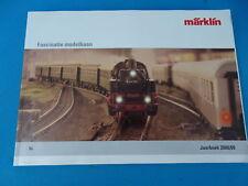 Marklin Katalog Catalog 2008-2009 NL
