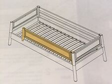 FLEXA  BED SIDE RAIL - NATURAL FINISH,  FLEXA #7914113  NIB!
