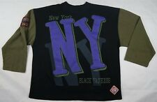 Rare Vintage NFB New York Black Yankees Negro Leagues Longsleeve T Shirt 90s XXL