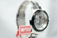 SWISS MILITARY HANOWA MARINE OFFICER classic Uhr silber Herrenmodell 6-5154 NEU