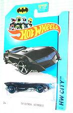 2014 Hot Wheels The Batman Batmobile  #61/250  HW City        GFL2