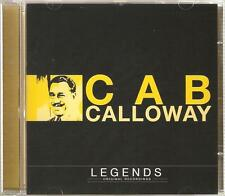 CAB CALLOWAY LEGENDS CD ORIGINAL RECORDINGS - MINNIE THE MOOCHER & MORE
