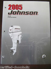 2005 Johnson Authentic Factory Service Manual 30 HP - 4 stroke - FREE SHIPPING