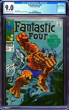 Fantastic Four #79 CGC 9.0 -- 1968 -- Thing cover. Kirby art. #2103994016