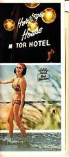 Heritage House Motor Hotel Hyannis MA Cape Cod Best Western 1980s Vtg Brochure
