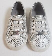 Michael Kors Toddler Shoes Size 8 White Silver