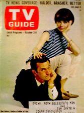 TV Guide 1965 Get Smart Don Adams Barbara Feldon Clint Eastwood #653 VG COA