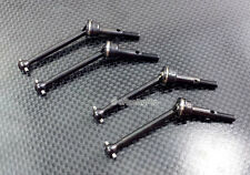 Steel #45 Front + Rear CVD Swing Shaft for Tamiya TB04