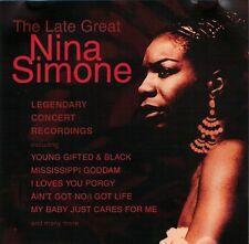 Nina Simone - The Late Great Nina Simone (CD)