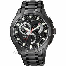 "Citizen Men's BL8097-52E Eco-Drive ""Calibre 8700"" Black Ion-Plated Stainless"