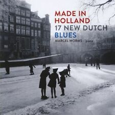 MARCEL WORMS, MADE IN HOLLAND - 17 NEW DUTCH BLUES, 17 TRACK CD FROM 2011 (MINT)