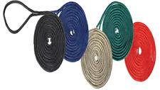 Boat Dock Lines 4 Blue 5/8 x 35 Double Braid Nylon Premier Mooring Marine Rope