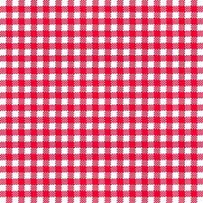 """20 Servietten""""Vichy red""""klassisches Karo Design*rot-weiß*33x33*Hochzeit*Liebe"""