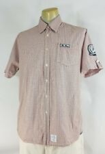 Mens Kitaro Selected Quality Casual Shirt Size Large Piazza Del Campo Horse Race