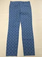 Womens GAP Blue Skinny Ankle Stretch Pants Sz 02 R NEW NWT