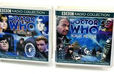 DOCTOR WHO BBC Radio Collection LARGE CD Sets Faceless Ones Dalek's Master Plan
