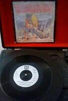 """The Dogs D'Amour – How Come It Never Rains Vinyl 7"""" P/S Single UK 1989"""