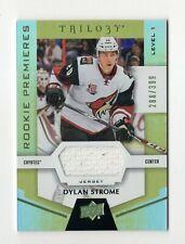 DYLAN STROME NHL 2016-17 UPPER DECK TRILOGY RAINBOW GREEN  (COYOTES,BLACKHAWKS)