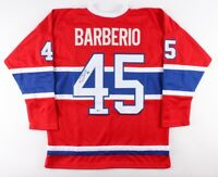 Mark Barberio Signed Montreal Canadiens Jersey (Beckett COA) NHL
