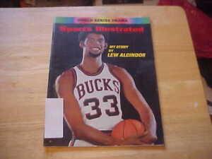 My Story Lew Alcindor Milwaukee Bucks  Oct. 27, 1969 Sports Illustrated