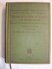 Fachbuch Lehrbuch der Botanik für Hochschulen Strasburger Noll Schenck Schi 1919