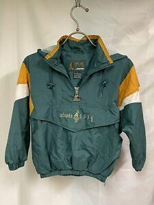 Vintage Atlanta 1996 Olympics Child's Sz LG Jacket Pullover With Mascot On Back