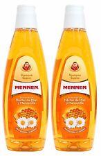 2x MENNEN Shampoo Suave Nectar De Miel Y Manzanilla HONEY & CHAMOMILE 500mL Each