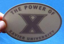 Xavier University Sticker Decal Power Of X College Musketeers Alumni Cincinnati