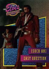 Series 3 DUFEX FOIL Chase Card Elvis Collection River Group 21 EASY QUESTION