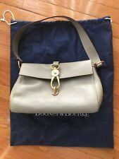 NWOT Dooney & Bourke Florentine Libby Hobo Leather Light Taupe