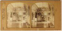 Versailles Occhio Da Manzo Francia Foto Stereo PL54L4n Diorama Vintage Albumina