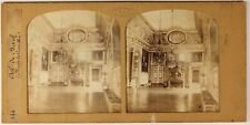Versailles Oeil de boeuf France Photo Stereo PL54L4n Diorama Vintage Albumine