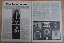 MILLIE JACKSON  -  Clipping/Bericht aus dem Jahr 1978 - Musikzeitschrift
