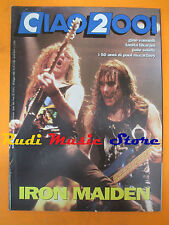 rivista CIAO 2001 19/1992 Iron Maiden Tanita Tikaram McCarteney Vandelli * No cd