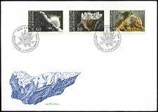 Liechtenstein 1994 Minerals Cover #C33535