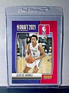 Scottie Barnes 2021-22 Panini NBA Draft Night Rookie Card PreSale