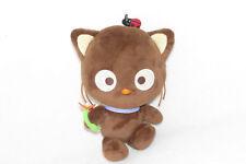 "Nakajima Chococat Brown Bugs Flower Plush Doll Soft Toy 8"" Sanrio Black Cat"