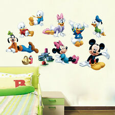 Mickey Mouse  Minnie Family Vinyl Mural Wall Sticker Decals Kids Nursery Decor