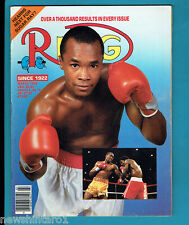 #AA. THE RING BOXING MAGAZINE, MARCH  1989