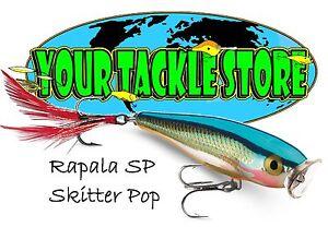 Rapala SP07 Skitter Pop Pick Color & Qty NIP SP 07 Factory Direct