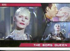 Star Trek Aliens Gold Parallel Base Card # 99 The Borg Queen
