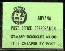 GUYANA SCOTT# 1337-1338 COMPLETE UNEXPLODED BOOKLET AS SHOWN