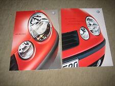 VW Polo Prospekt Brochure von 10/2001, 60 Seiten + technische Daten