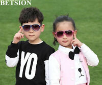 2 pcs Fashion Child Kids Sunglasses Anti UV400 Protection Boys Girls Children