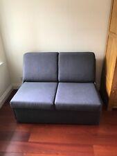John Lewis Blue 2 seater sofa bed used