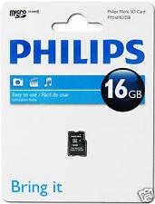Philips MicroSDHC-Card 16GB, Class 4