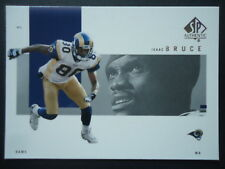 NFL 74 Isaac Bruce St. Louis Rams Upper Deck 2001 SP Authentic
